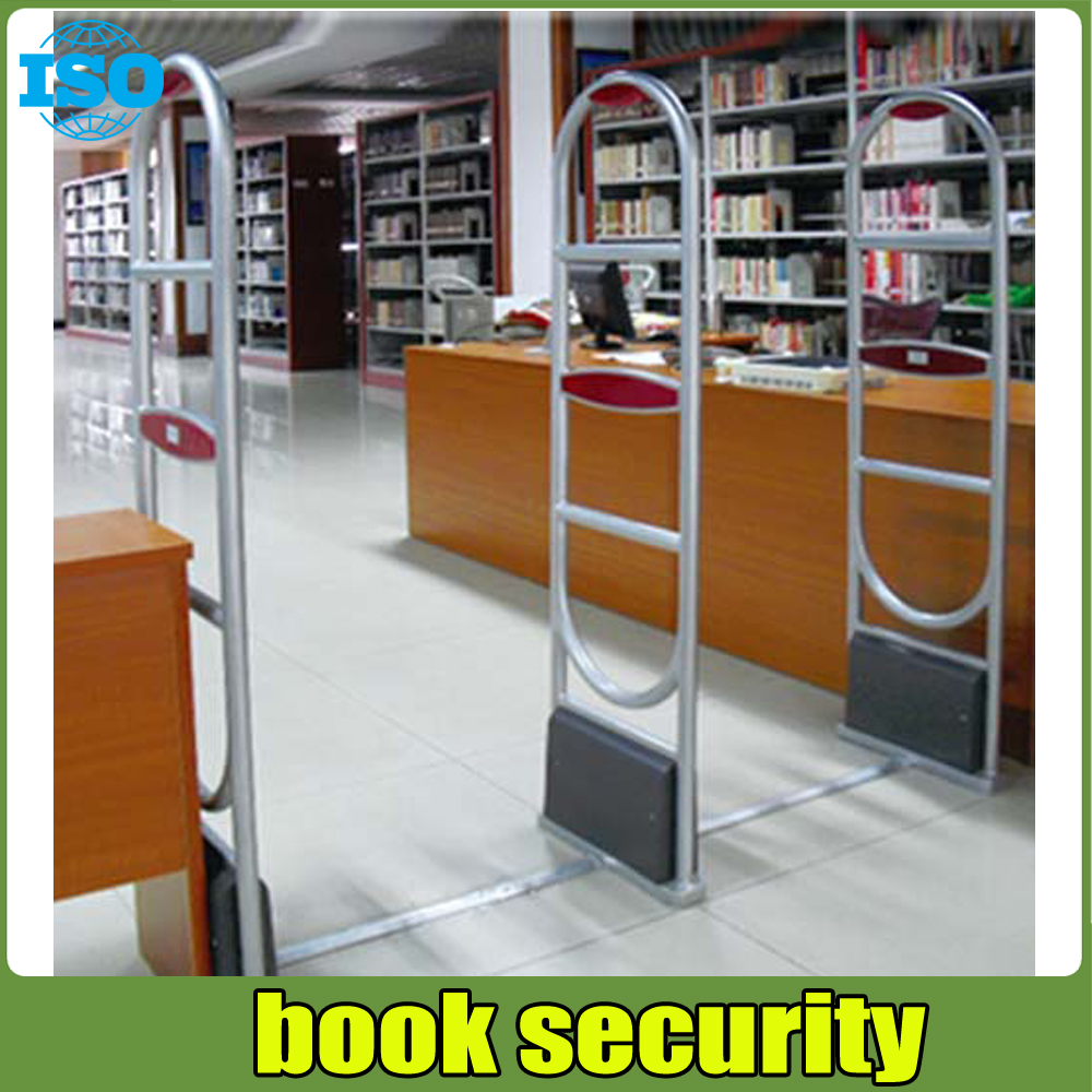 EM library security equipment book theft alarm system with free solution design hzsecurity electromagnetic system em library anti theft system one aisle