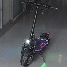 Турбо быстрая скорость Отличная производительность складной двойной двигатель электрический скутер 3200 Вт с внедорожных шин мощный P1