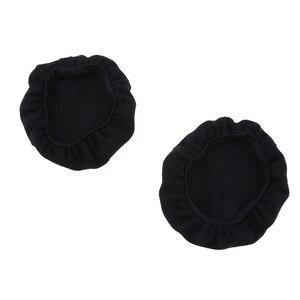 Image 2 - Couvre casque en tissu extensible oreillette oreillette casque universel hygiène et housses de protection pour écouteurs 9 ~ 11cm