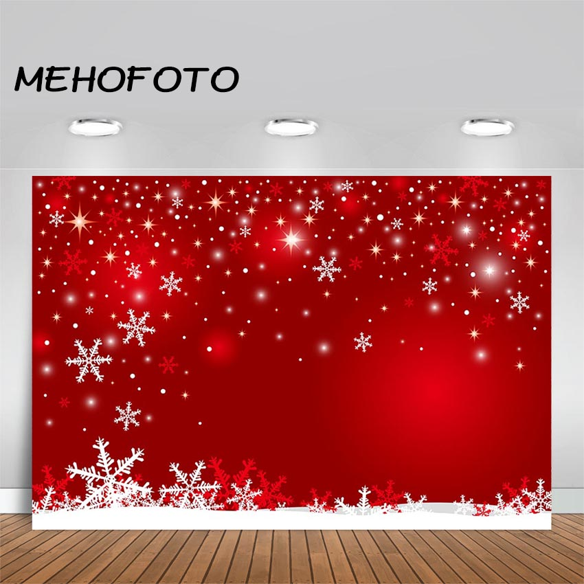 Christmas Photography Backdrops Winter Snow Baby Newborn Photo Booth Backgrounds for Photocall Studio Photographic Vinyl Fabric