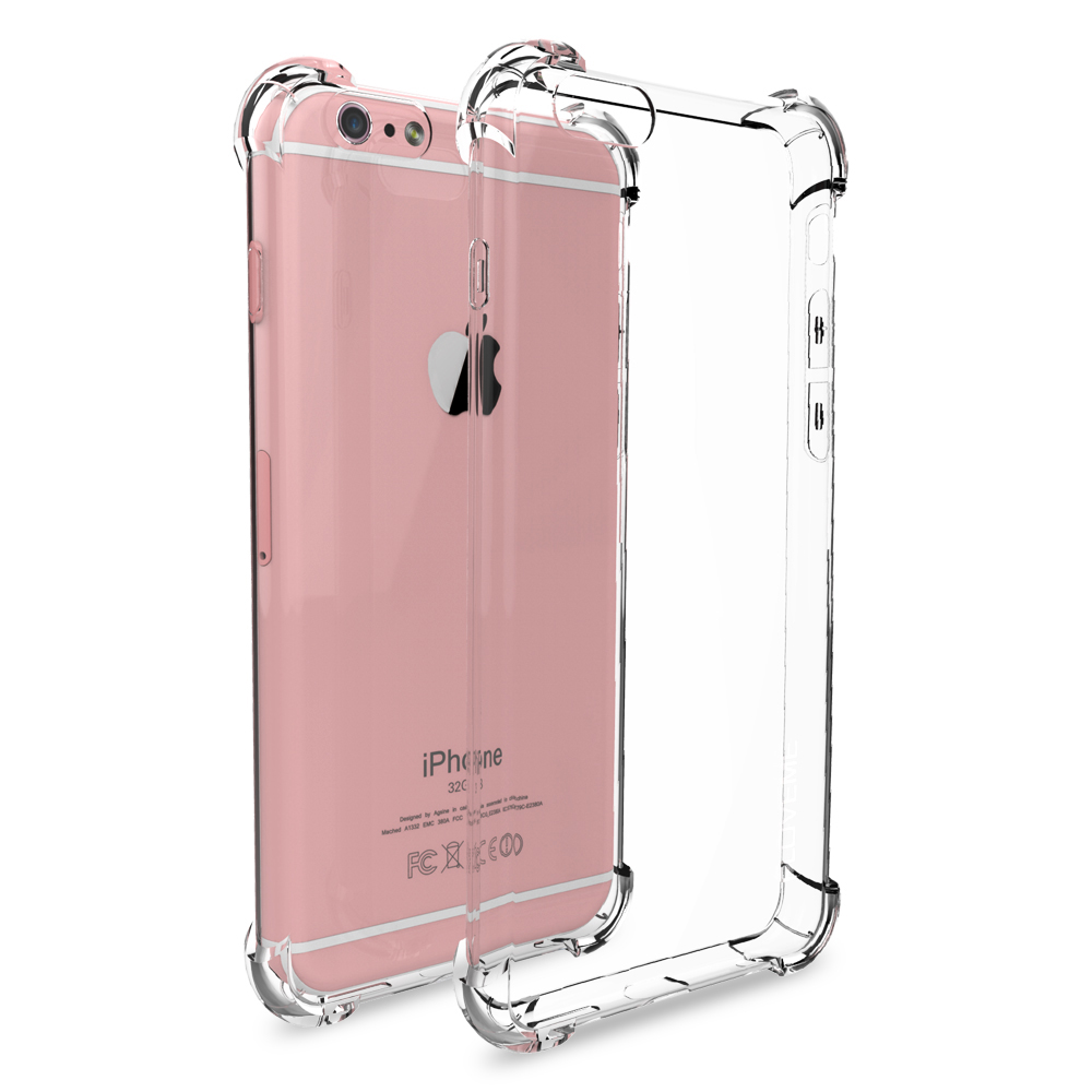 IPhone 7 6s 6 Plus XR XS MAX Yumşaq TPU Zərbəyə davamlı şəffaf - Cib telefonu aksesuarları və hissələri - Fotoqrafiya 6