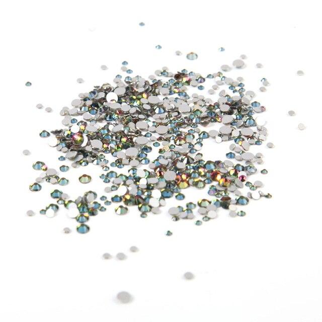 ROSALIND-strass en cristal, décoration des ongles en 3D coloré, accessoire scintillant, Nail art