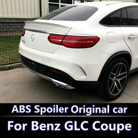 For Mercedes GLE coupe Spoiler For GLE320 GLE400 GLE450 GLE500 GLE63 AMG ABS Plastic Color lacquer spoiler 2016 2018