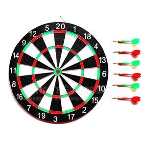 Image 5 - Zestaw 6 rzutek i rzutek 12/15/17 Cal rodzina/biuro gra tarcza do ćwiczeń sportowych gra w rzutki