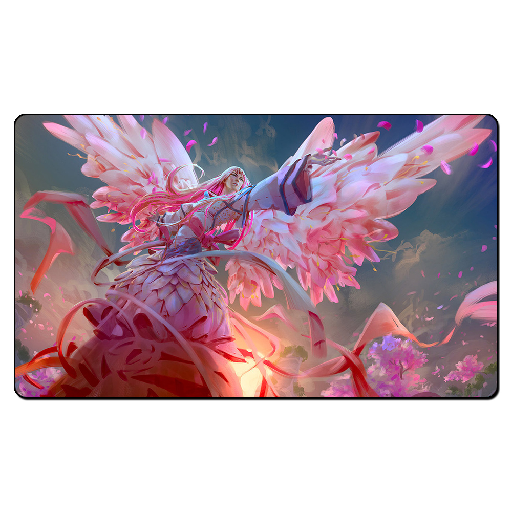 (Johannes Voss Angel Token) Board Games Playmats, Magical Card Play Mat,The Games Game Pad Custom Design With Free Gift Bag