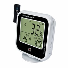 Discount! Digital Thermo-Hygrometer Indoor Outdoor Temperature Thermometer with Dew   Point Measurement & Relative Humidity RH Alarm