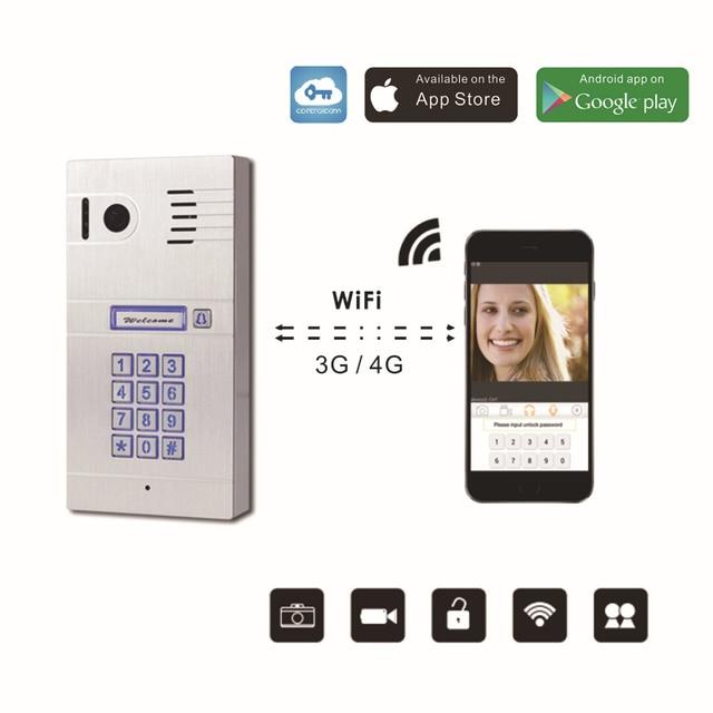 Wireless Wifi Remote Control IP Video Door Phones Wireless IP Intercom System Home Access Door Camera  sc 1 st  AliExpress.com & Wireless Wifi Remote Control IP Video Door Phones Wireless IP ...