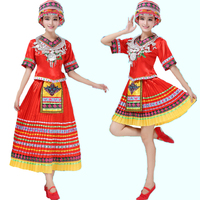 Free shipping new arrival including Miao hair accessory Chinese national folk dance performance wear costumes