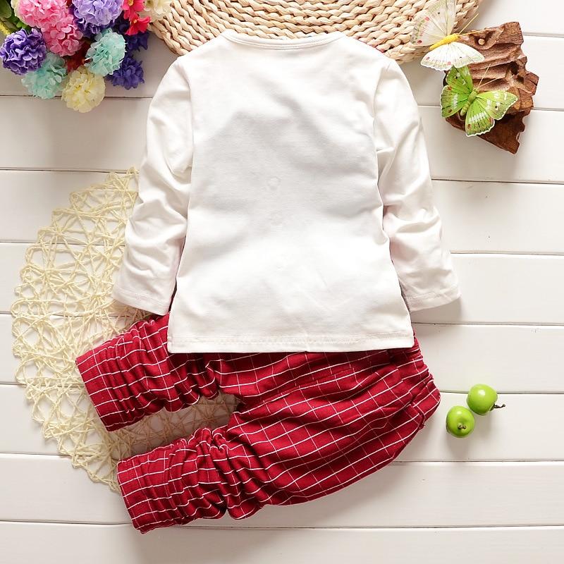 2PCS Baby Boy Drabužiai Gentleman Pavasario Ruduo Vaikai Stripe Long - Kūdikių drabužiai - Nuotrauka 4