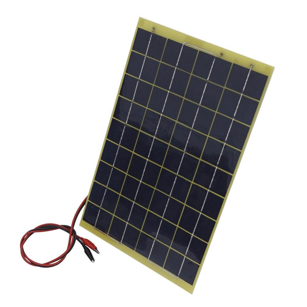 60w 12V Solar Panel Kit Home Battery Camping Carava&solar charger&solar panel