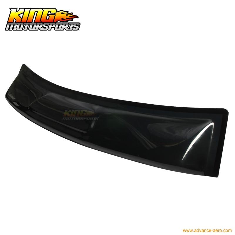 For Honda Accord 4DR//Sedan Smoke ABS Sun Shade Rear Roof Window Visor Spoiler