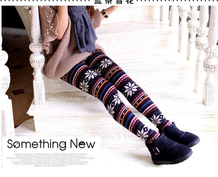 411175f633a2b0 New Bestselling Women's snowflake pants 20styles Christmas Snow flake deer tight  slim Lady