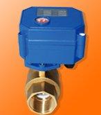 Livraison gratuite G3/4 ''alésage complet 20mm Mini vanne de contrôle en laiton CWX-15 vanne à boisseau sphérique motorisée CR03 ou CR04 Type de contrôle AC220V 3 pièces