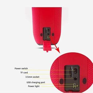 Image 2 - Altavoz Bluetooth portátil de alta potencia impermeable columna reproductor de música soporta Subwoofer barra de sonido BoomBox con Radio FM tarjeta TF