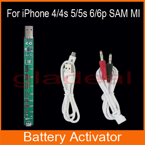 Smart Phone Repair Power Charger For iPhone 4/4s/5/5s/6/6 Plus SAM MI Battery Activator Repairing Tools nagat abady adel el gendy and mohamed mokhtar synthesis of certain indole 2 carboxylate derivatives