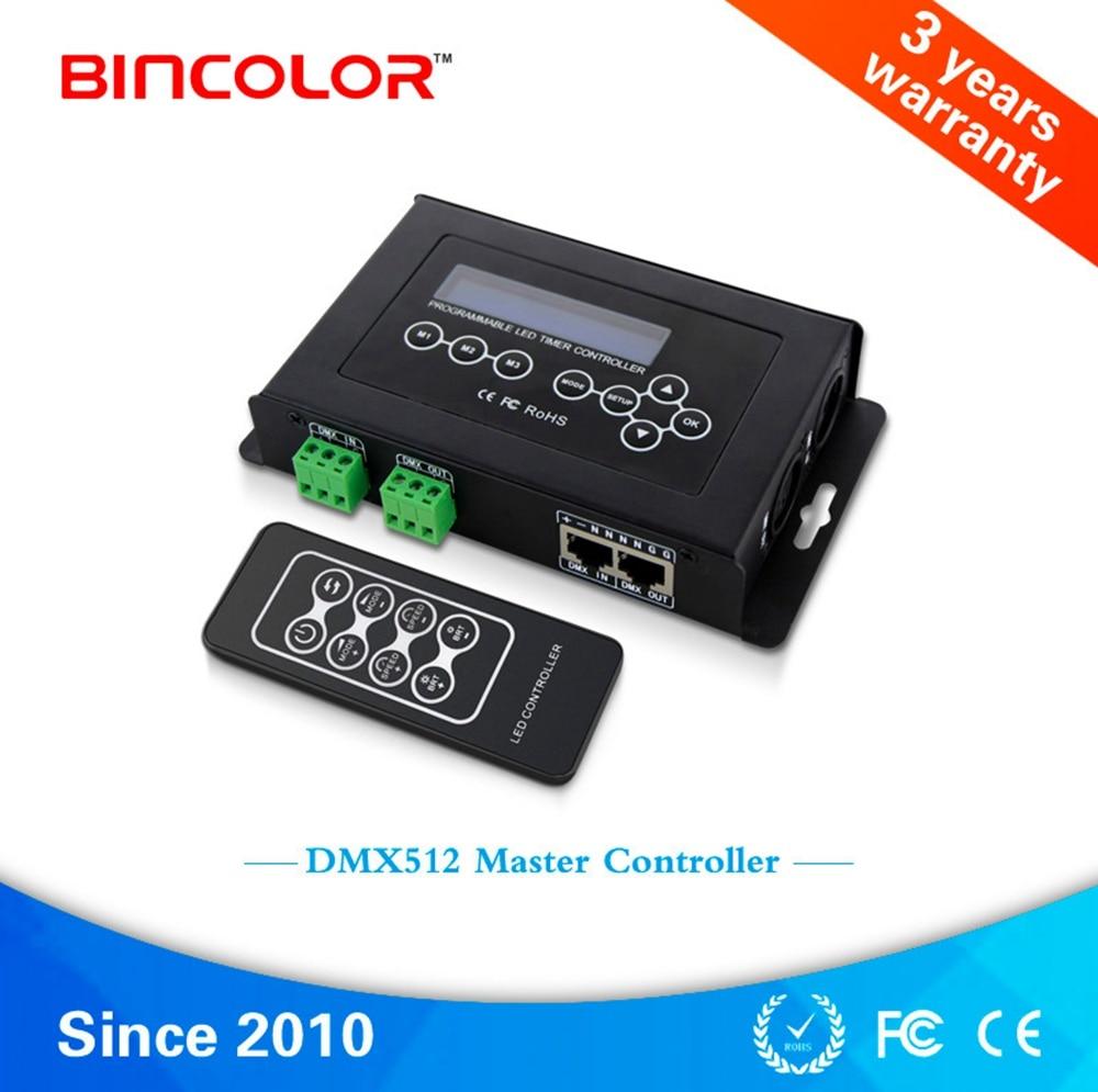 BC 100 DC9V светодиодный RGB контроллер DMX512 сигнал 170 пикселей светодиодный светильник контроллер ЖК дисплей RF беспроводной пульт дистанционного... - 3