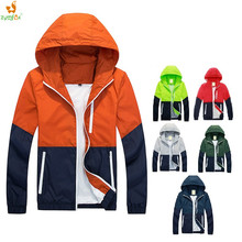 Camping Mountain Sport Jacket Thin Men Summer Thin Windbreaker Jaqueta De Masculina Outdoors Sportswear Slim Zipper Coats S-XXXL