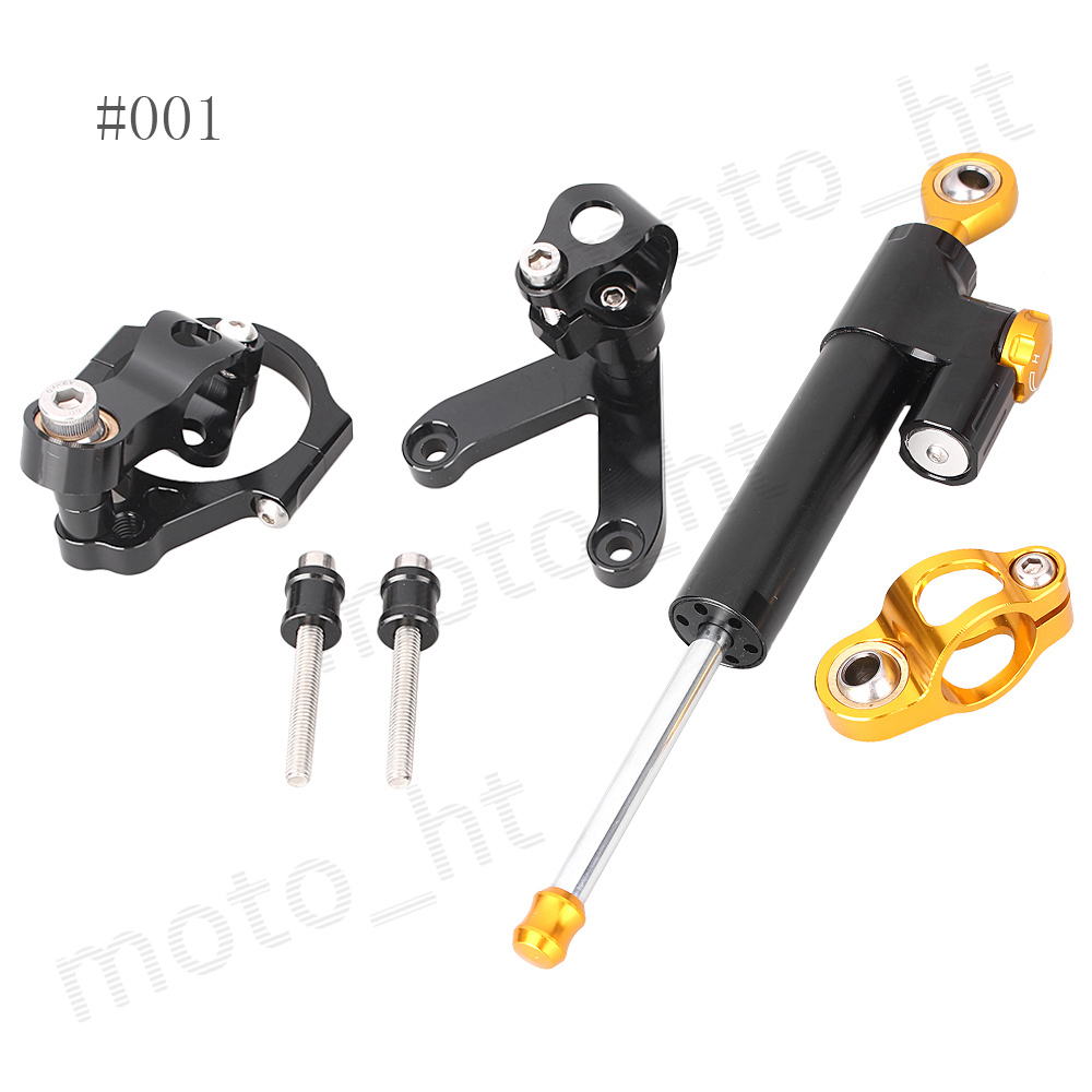 ФОТО CNC Steering Damper Stabilizer & Bracket Safety Control Mounting Kit for DUCATI 848 2008 2009 2010
