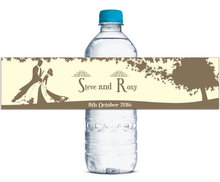 48x Personalized Water Bottle Labels Wedding Party Favors Gifts Tags Personalised Candy Stickers Customized Family Name