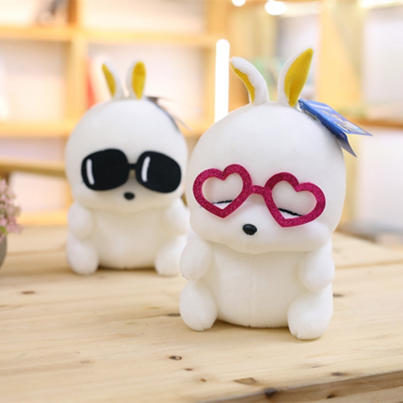1pc 25cm Cute Mashimaro Plush Toy Stuffed Animal Rabbit Plush Toy Wedding Dolls Birthday Gift Children's Kids Love Toy rabbit plush keychain cute simulation rabbit animal fur doll plush toy kids birthday gift doll keychain bag decorations stuffed
