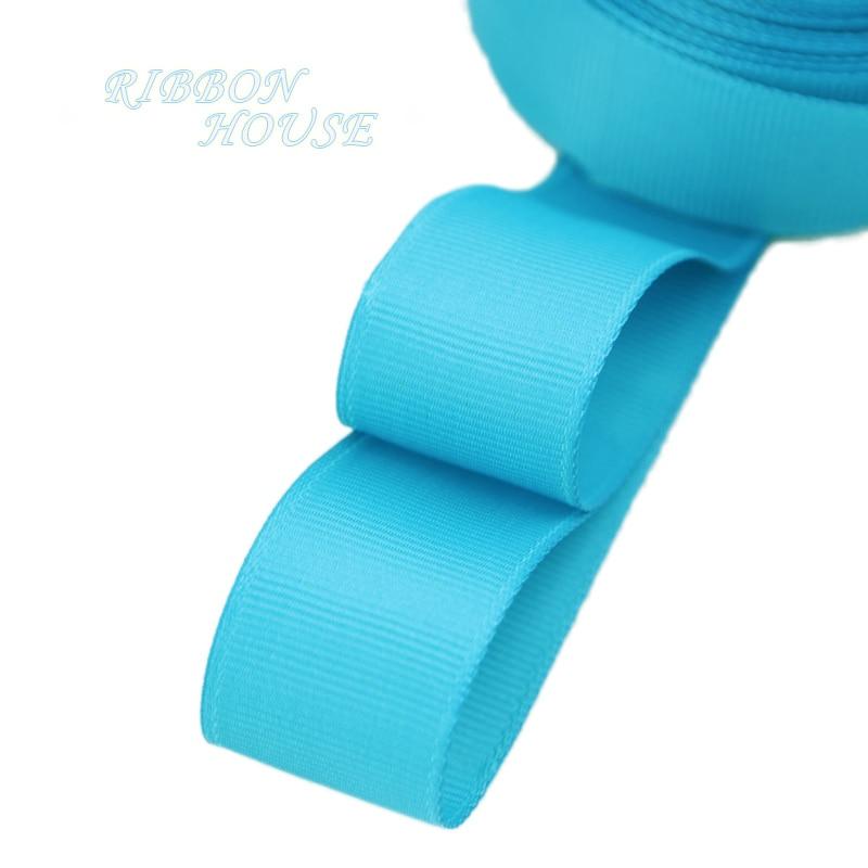 (5 м/лот) 1 «(25 мм) Голубое озеро корсажная лента подарочная упаковка оптом Рождество украшение ленты