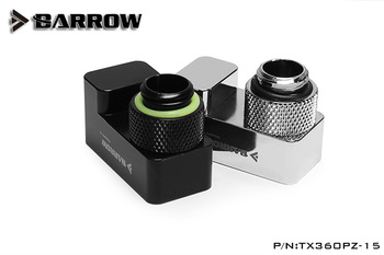 Barrow TX360PZ-15, 15mm 360 Degree Rotary Offset Fittings, G1 / 4 15mm Male To Female Extender Fittings
