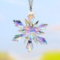 Car Pendant Crystal Decoration Hanging Ornament Charms Automobiles Interior Rearview Mirror Suspension Trim Accessories
