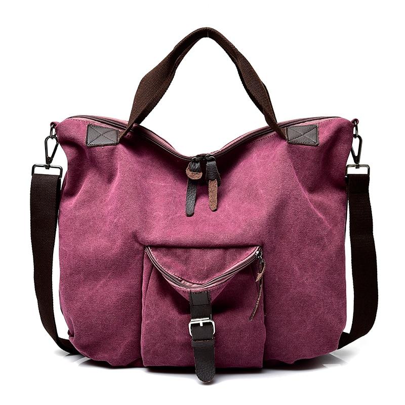 YUTUO Large Tote Canvas Bag Handbags Shoulder Bags Messenger Bag Bolsa Feminina