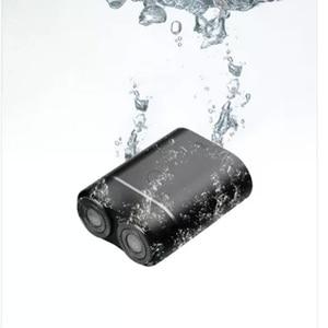 Image 3 - Новейшая Xiaomi Mijia Мужская электрическая бритва для влажного/сухого бритья IPX7 водонепроницаемый перезаряжаемый мини корпус из японской стали немецкий технический мото