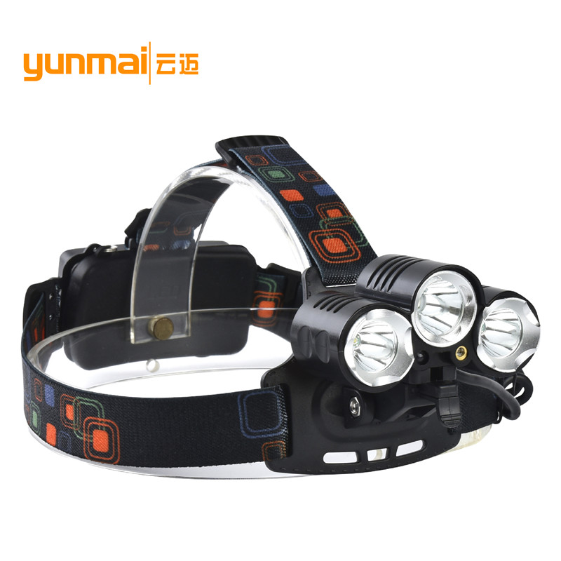 8000Lumen UV Red Laster+XM-L T6+2Q5 LED Headlamp Headlight Fishing Hunting Head Light Lamp+2*18650 Batteries+Charger+Car Charger