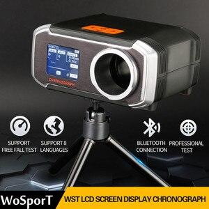 Image 3 - WoSporT Schießen Chronograph Speed Tester Unterstützung Bluetooth APP ISO Taktische Airsoft BB Guns Paintball Zubehör