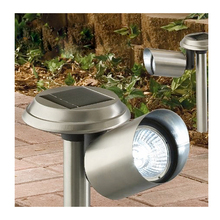 Lamp Spotlight LED Stainless Steel Light Garden Solar Powered Landscape Light  88 –M25