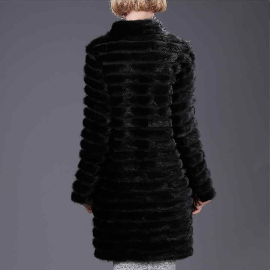 Женская новая натуральная норковая шуба, верхняя часть тела, съемная шуба, осенняя и зимняя мода для отдыха, теплая замшевая шуба, уличный стиль