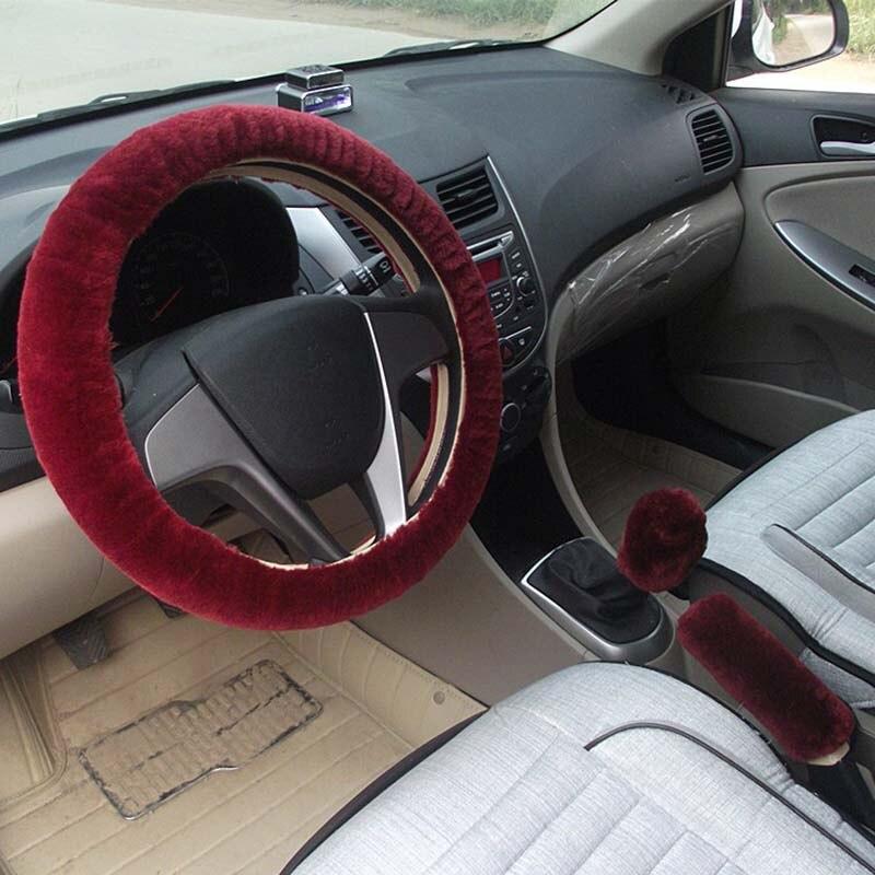 KKYSYELVA Қысқы автомобиль рульдік - Автокөліктің ішкі керек-жарақтары - фото 3