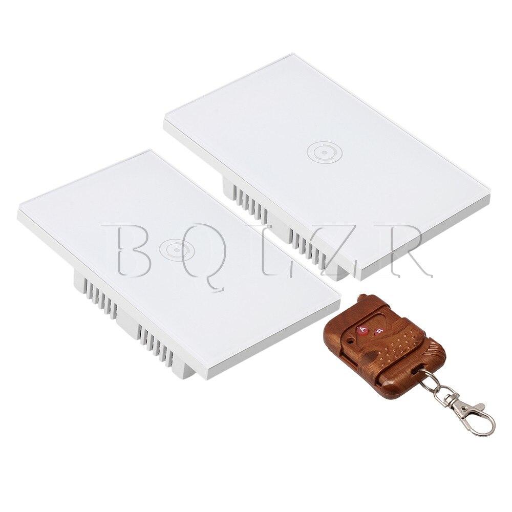 BQLZR Télécommande NOUS Smart Wifi Lumière Commutateurs Tactile Interrupteur Mural Panneau de Verre