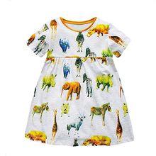 Bebé Niña Vestido de Verano Túnica 2017 Marca Robe Fille Impresión Niños Vestido de La Princesa Cumpleaños de la Mariquita Disfraz para Niños Ropa(China (Mainland))