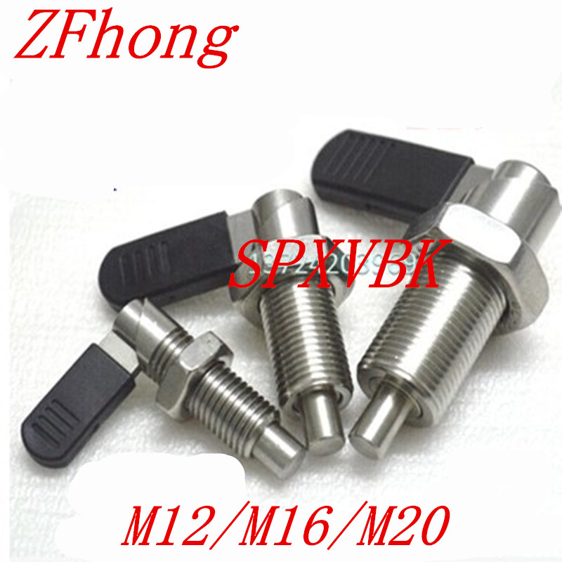 SPXVBK12  SPXVBK16  SPXVBK20 Indexing Plungers With L Handle M12 M16 M20