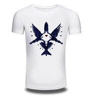 Men Women Summer Fashion Short Sleeve Brand Clothing T Shirt 3D Print Shirt Bird T Shirt