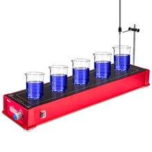 Ограниченное предложение BDJK лаборатории equipmentHMS-5 химическая лаборатория магнитной мешалкой конфорками магнитная мешалка магнитной мешалкой agitador магнит