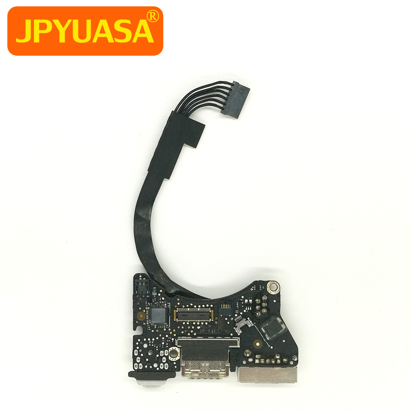Laptop USB Audio I/O Board 820-3213-A Power DC Jack For Macbook Air 11″ A1465 MD223 MD224 Mid 2012