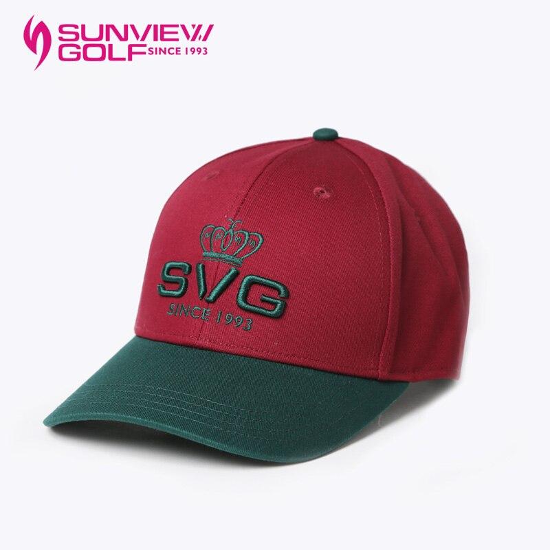 SVG SUNVIEWGOLF New Fashion Women Baseball Cap Adjustable Letter Printed 100% Cotton Sun Hat Sport One Size 2016 new fashion baseball cap women