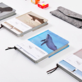 OUR-STORY-BEGINS Alone Walk Through Series Notebook A5 Original Personalized Color Pages Diary Notebook Notepad 1PCS