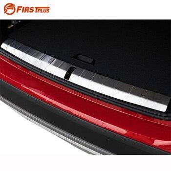 BMW için X1 2015 2016 Araba Önyükleme Trim Gövde Rearguards Arka Tampon Çamurluk İç Dış Eşiği Plaka Koruyucu Koruyucu Kapak