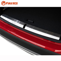 For BMW X1 2015 2016 Car Boot Trunk Rearguards Rear Bumper Fender Inner Outer Sill Plate