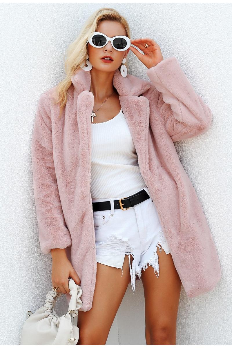 Elegant Fluffy Coat