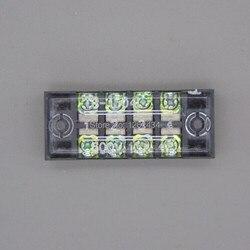 Borniers TB-1504 (15A 4 P) boîte de jonction de rangée de câblage de panneau de brassage