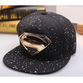 2016 Breathable Superman Cool Cap Snapback Cotton Adjustable Baseball Sun Visor Hip Hop Outdoor Hats for Men Women 56to60 CM F05