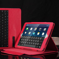 Wireless Bluetooth Keyboard PU Shock Dust Proof Cover For Ipad 2 3 4 Protective Stand Case
