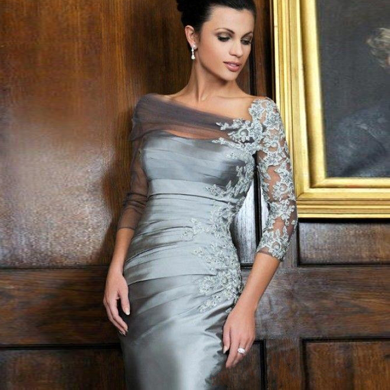 Popular Plus Size Knee Length Mother of Bride Dress-Buy Cheap Plus ...