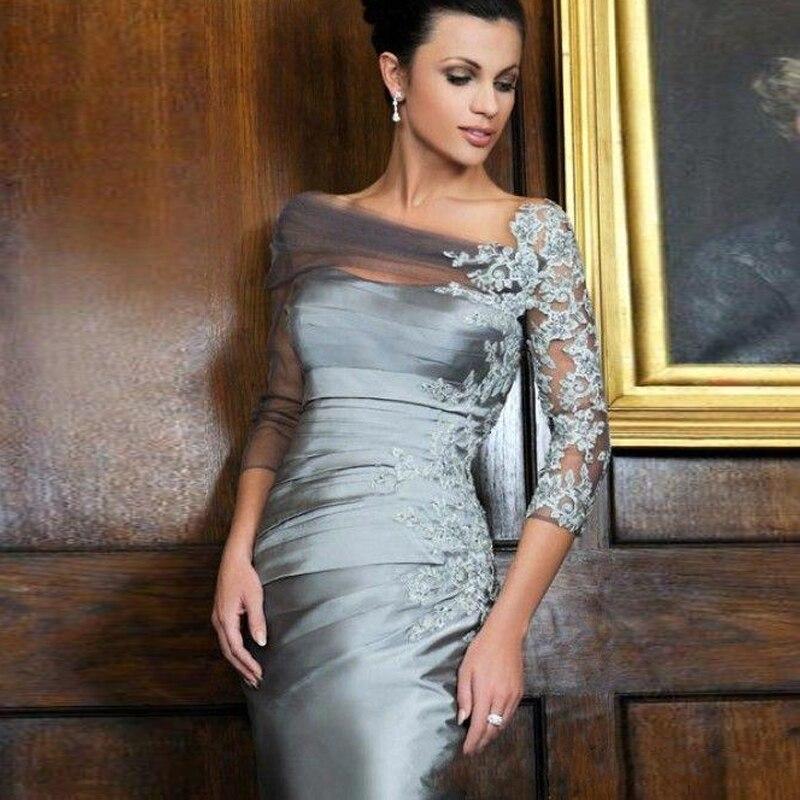 Popular Short Gray Mother of Bride Dresses-Buy Cheap Short Gray ...